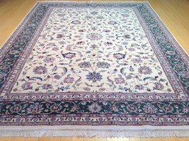 9 x 12 CW 894 100 % Wool Hand Knotted Handmade Traditional Oushak Design... - $1,485.00