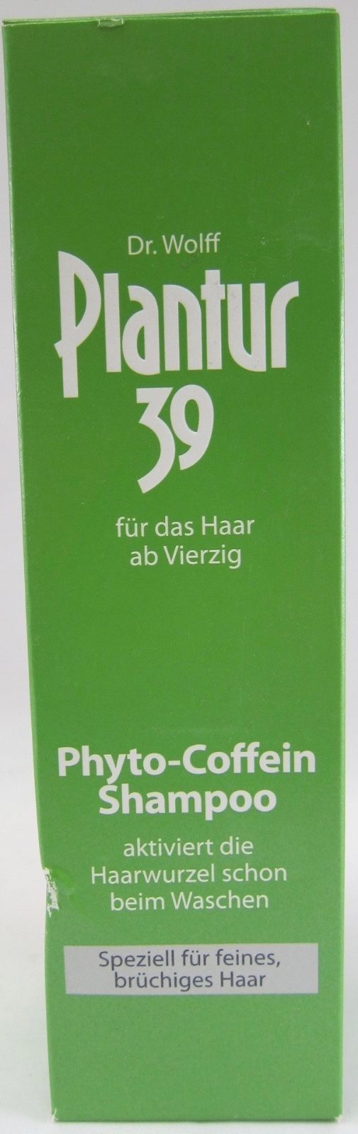 Plantur 39 Caffeine Shampoo for fine/brittle hair 250ml - Made in Germany -