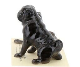 Hagen Renaker Dogs Pug Mama and Baby Black Ceramic Figurine image 5