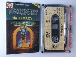 Testament The Legacy 1992 rare cassette tapes M Records Europe Heavy Met... - $9.90