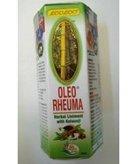 Oleo Rheuma Liniment With Kalaunji Joint aches and muscle pains oil 100ml - $21.83
