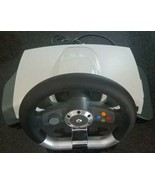 Microsoft Xbox 360 Wireless Force Feedback Racing Steering Wheel WRW01 - $40.50
