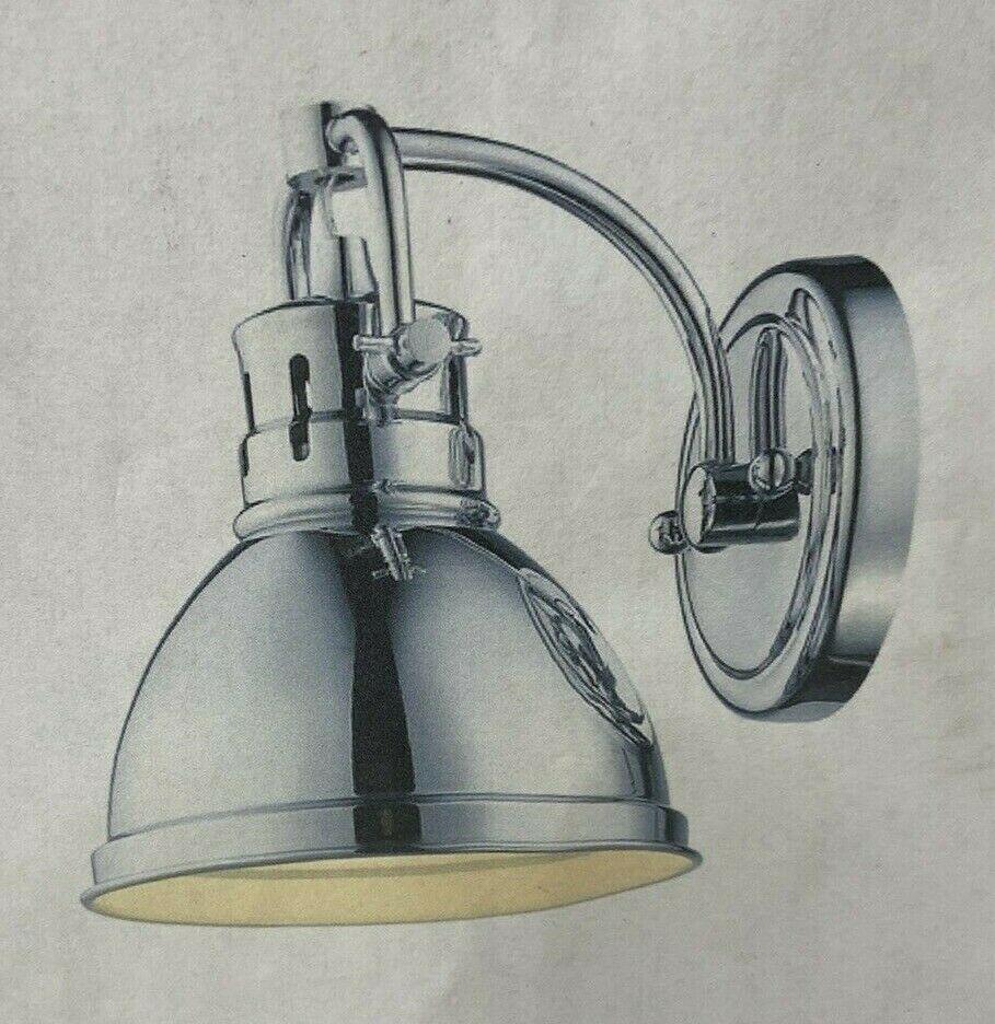 Chrome Duncan Single Sconce Light 3602-BA1-CH - $49.09