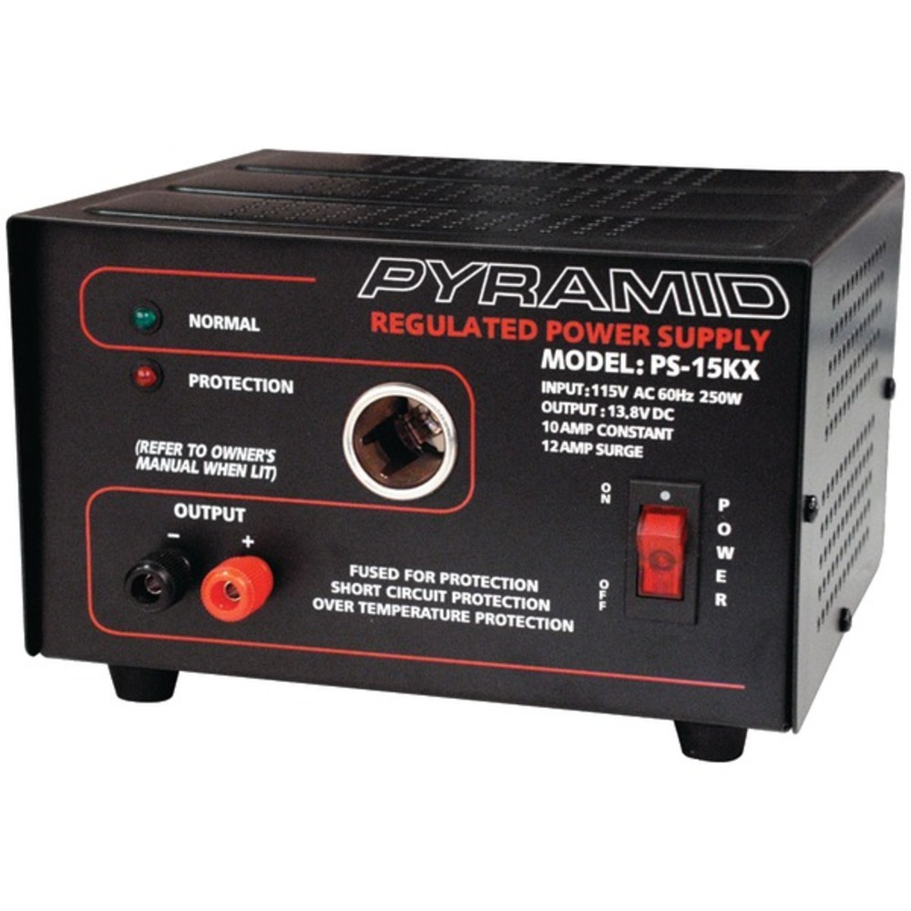 Primary image for Pyramid Car Audio PS15K 10-Amp Power Supply with Car-Charger Adapter