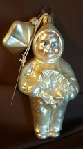 Dept 56 Snowbabies Poland Hand Made Blown Ornament Night Before Christmas - $5.00
