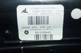 2013-15 Dodge Dart Trunk Lid Center Tail Light Taillight Lamp Panel NON-LED image 9