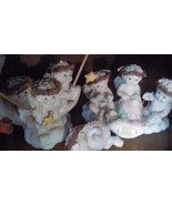 Vintage 60 DREAMSICLES ANGEL CHERUB FIGURINES HUGE LOT COLLECTION FtMyer... - $99.99
