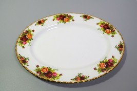 "Royal Albert Old Country Roses Oval Serving Platter 13"" Original Stamp E... - $57.87"