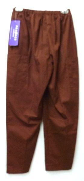 Fern Tan Jacket Cinnamon Scrub Pants Bottoms XS Scrub Set New image 9