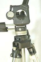 Manfrotto Bogen 3021 pro camera tripod +3047 Deluxe 3-way Pan/tilt Head image 6