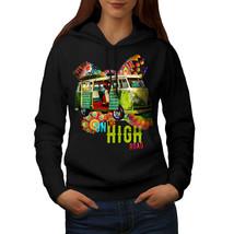 Road Trip Adventure Sweatshirt Hoody Groovy Van Women Hoodie - $21.99+