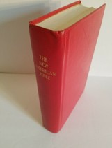 1971 NEW AMERICAN BIBLE.NELSON.RED HARDCOVER.USED. - $18.69