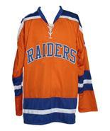 Custom Name # New York Raiders Retro Hockey Jersey New Orange Murray 13 ... - $54.99+