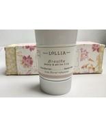 Lollia Breathe Treat Handcreme With Peony And White Lily 4.25oz - $24.70