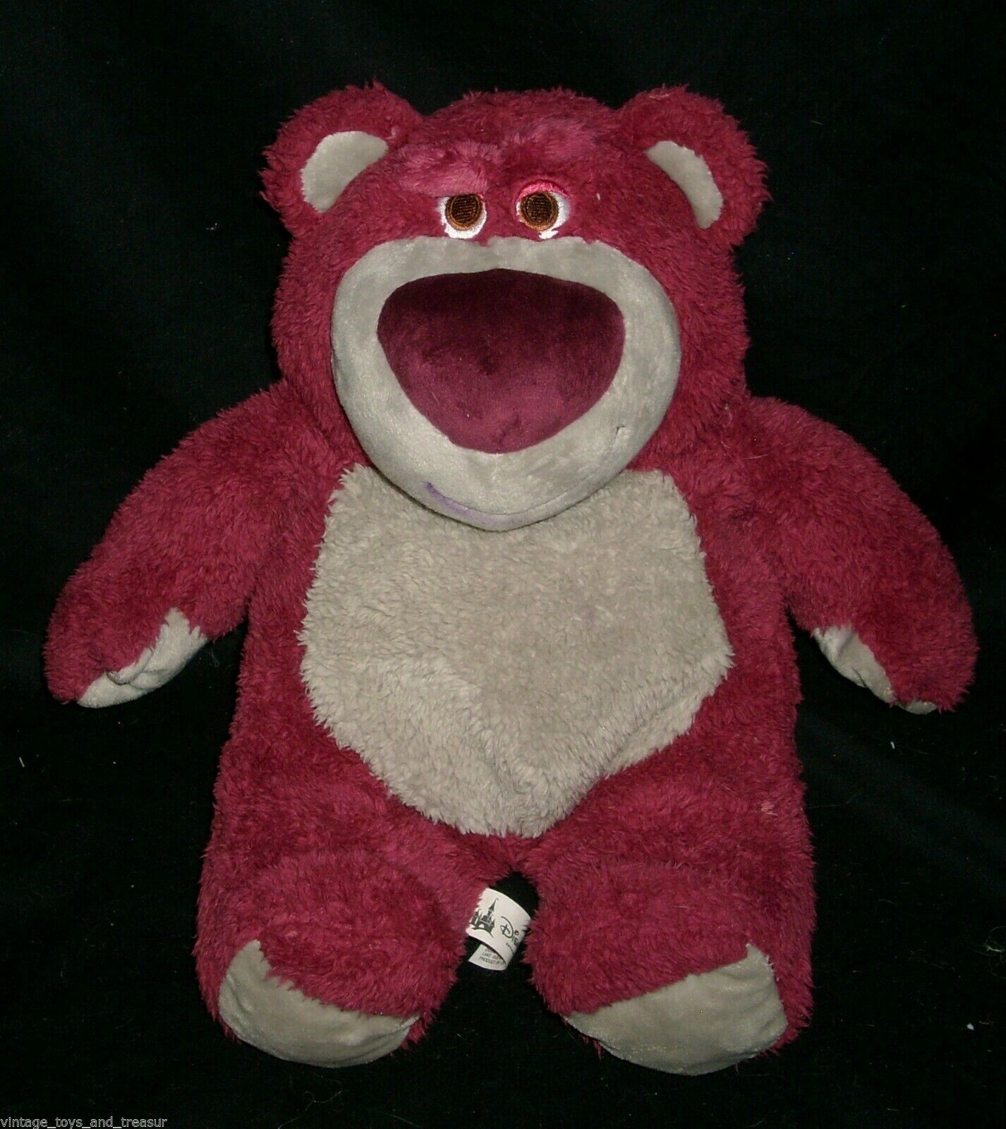 "13"" DISNEY TOY STORY 3 LOTSO HUGGIN TEDDY BEAR STUFFED ANIMAL PLUSH TOY PIXAR"