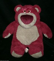 "13"" DISNEY TOY STORY 3 LOTSO HUGGIN TEDDY BEAR STUFFED ANIMAL PLUSH TOY ... - $22.44"