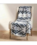 NEW Pendleton Home Collection Classic Throw Reversible Navy - $59.39