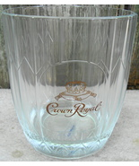 Crown Royal Whisky Glass Rocks Lowball Glass Vonpak Italy - $12.99