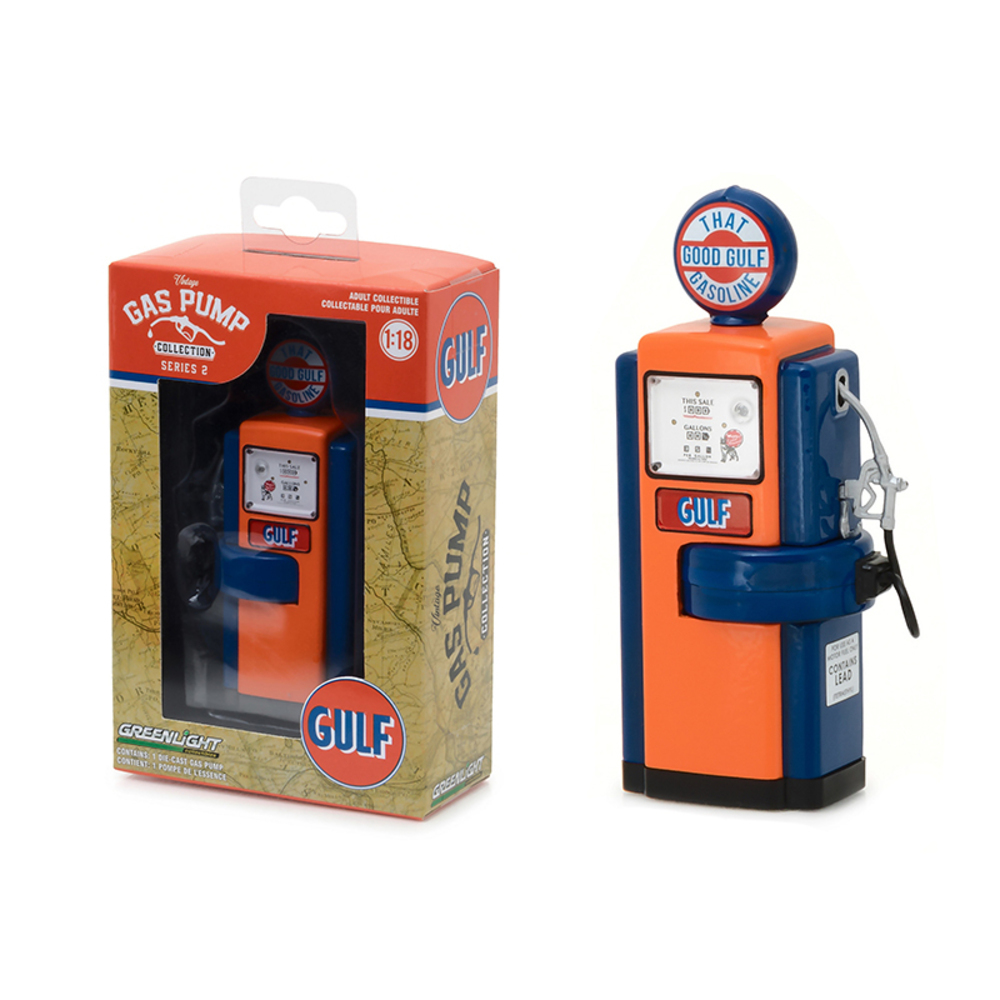 1948 Wayne 100-A Gas Pump Gulf Oil That Good Gulf Gasoline Gas Pump Replica Vint