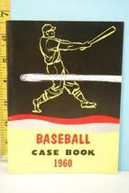 NFHS 1960 Baseball Case Book National Alliance Ed. High School College - $9.99