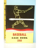NFHS 1960 Baseball Case Book National Alliance Ed. High School College - $9.99