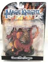 Mage Knight Rebellion Great Fire Dragon Vntag WizKids Collectable Miniat... - $39.59