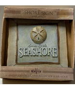 The Shore Sign Wall Plaque Down By The SeaShore Sand Dollar By NewView 6... - $13.25