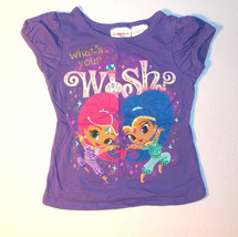 Nickelodeon Shimmer and Shine Toddler Girls T-Shirt Size 3T VGUC - $7.56