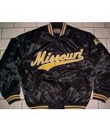 Missouri Tigers Football NCAA SEC Team Pride Sportswear Black Button Jac... - $69.29