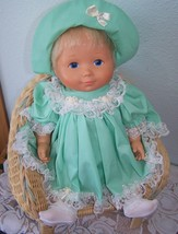 "1977 MY BABY BETH 19"" Baby Doll Fisher Price 209 EUC Green dress, Pantie... - $44.55"