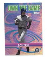 2001 Topps Own the Game Ichiro Insert Card #OG14 - $0.98