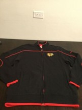Chicago Blackhawks Reebok Full Zip Sweatshirt Small Excellent Condition - $17.81