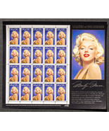 Marilyn Monroe, Sheet of 32 cent stamps, 20 stamps total - $8.50