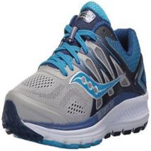 Saucony Women's Omni 16 Running Shoes Grey Blue Wide - $46.39+