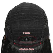 REMY FORTE 38 Inches Super Long Synthetic Hair Wigs Extra Long Lace Front Straig image 7