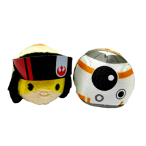 Disney Star Wars Tsum Tsums Set BB-8 Robot Poe Dameron Stuffed Mini Plus... - $17.86