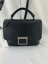 Calvin Klein Dani Leather Satchel ($248) - $85.60