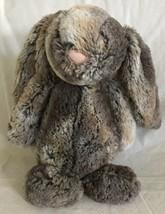 "Jellycat London Woodland Babe Bashful Bunny Rabbit 11"" Beanbag Plush Bro... - $13.85"