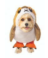 Rubies Star Wars The Last Jedi Porg Pet Dog Animal Halloween Costume 58... - $408,90 MXN