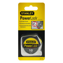 Stanley 10-Foot-by-1/4-Inch PowerLock Pocket Measuring Tape Ruler - $11.37