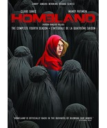 Homeland The Complete Fourth Season 4 DVD 2015 Brand New Sealed  - $19.50