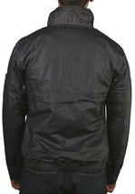 Bench Mens Cotton Polyamide Wax Electronica B Charcoal Grey Jacket with Hood NWT image 2