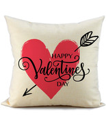 Fiberomance valentines day pillow covers red heart and arrow 7114 0 res thumbtall