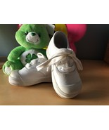 NEW KEDS Baby Toddler SZ4 Champion Lace Toe Cap White Leather Boy Girl S... - $19.25