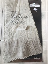 The Great American Aran Afghan Paperback  - $34.58