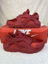 NEW Nike Air Huarache Run Red/ Sail-Black/ Red 634835-601 Women Sizes 6,... - $95.00