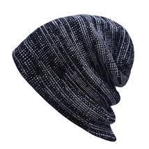 LIHFSI 2017 Men Women Winter Hats Caps Unisex Beanie Hat Beanies Knitted... - $9.31