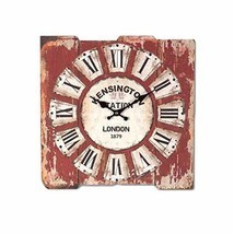 PANDA SUPERSTORE Vintage Look Wooden Wall Clock Creative Home Decoration... - $58.05