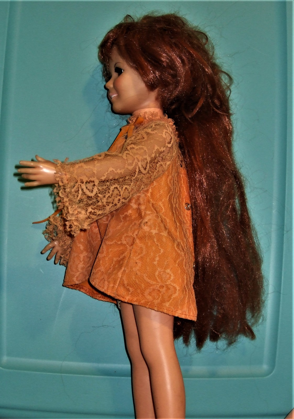 Crissy Doll With Growing Hair - Vintage