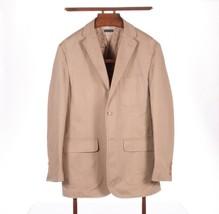 Polo Ralph Lauren 3/2 Roll Tan Cotton Unstructured Triple Patch Pocket Jacket L - $89.05
